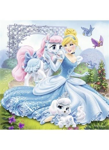 Ravensburger 3X49 Disney Belle Cinderalla Rapunzel Rpk093465 Renkli